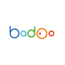 Badoo logo, internationaal daten