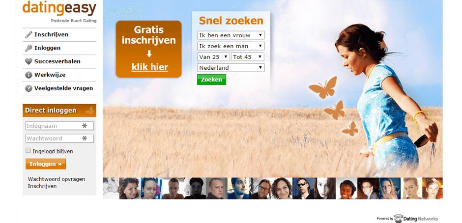 Screenshot Datingeasy