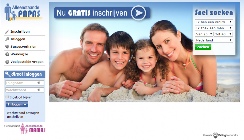 Datingsite alleenstaande papas