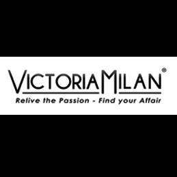 Logo van de sjieke datingsite Vicotria-Milan.nl