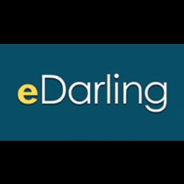logo eDarling, serieus daten, wie durft?